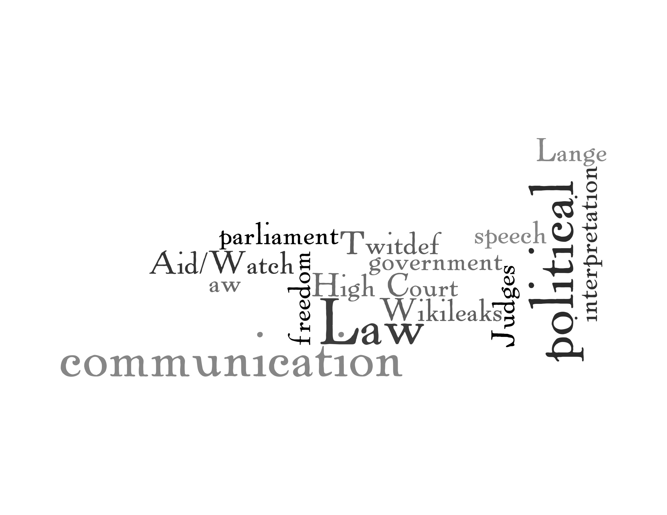 The High Court And The Freedom Of Political Communication Castan