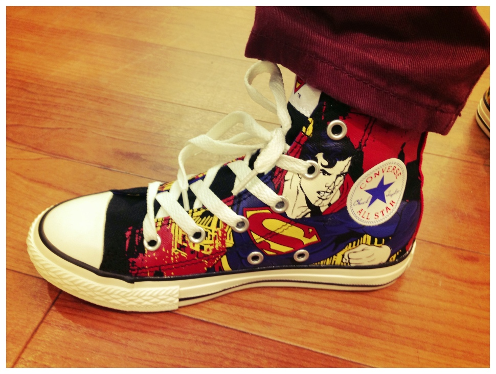 Photo of Superman Converse Sneakers