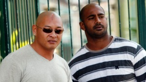 Andrew Chan, left, and Myuran Sukumaran in 2011
