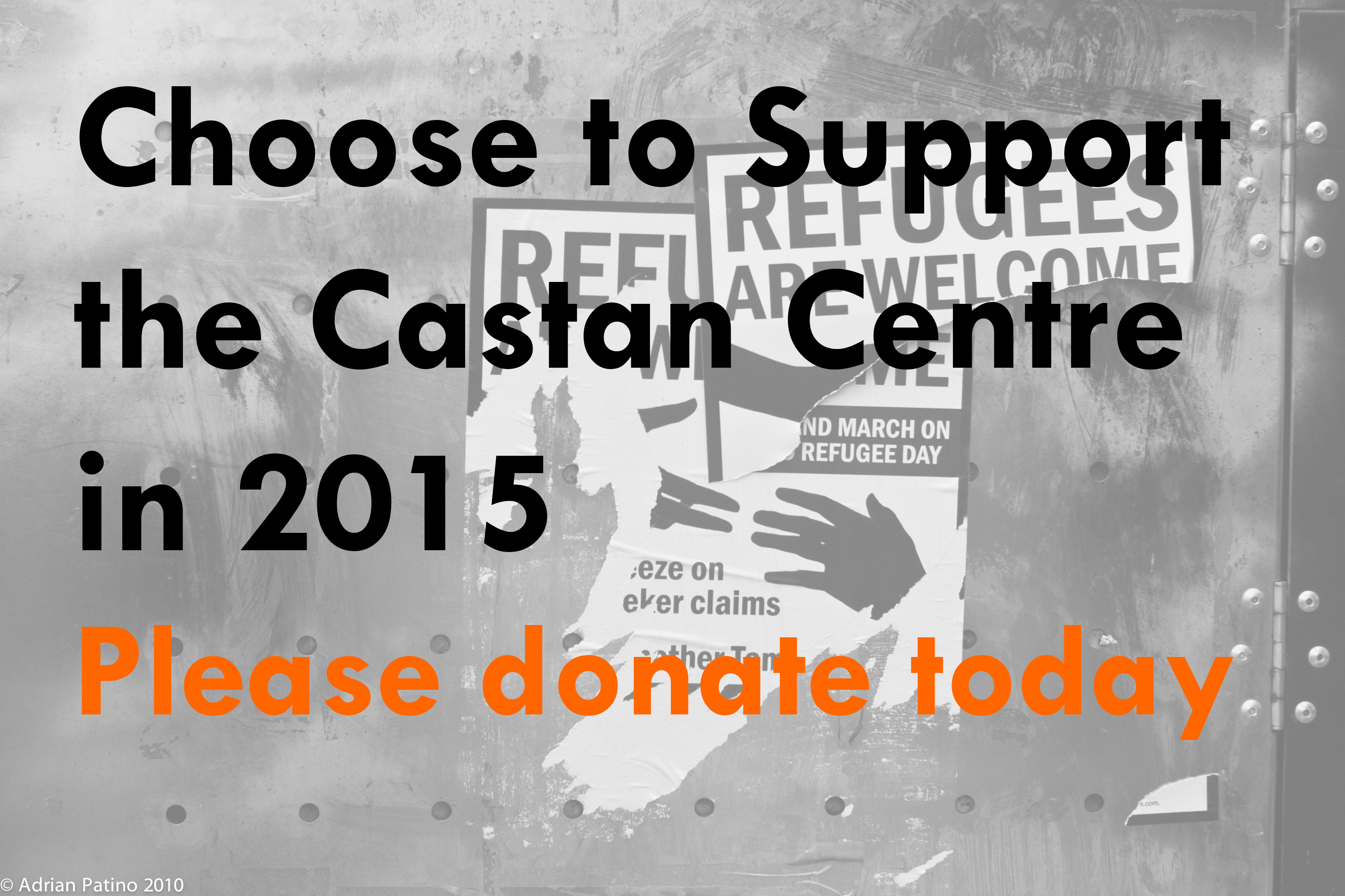 Donate to the Castan Centre