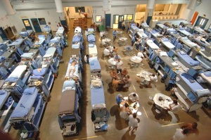 Overcrowded California Prison
